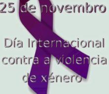 25 de novembro – Día Internacional para a Eliminación da Violencia Contra as Mulleres