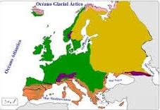 O clima de Europa