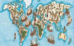 As exploracións marítimas no século XV