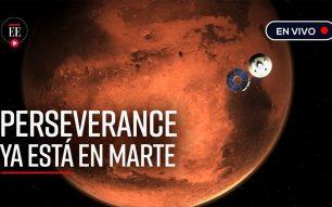 Perseverance xa en Marte!